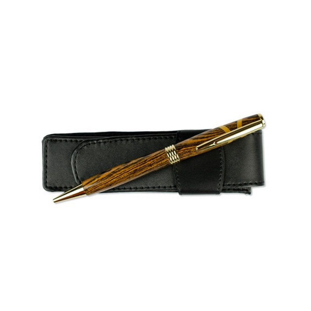 Bocote Wood Flat Top Streamline Pen by Century Cottage Pens