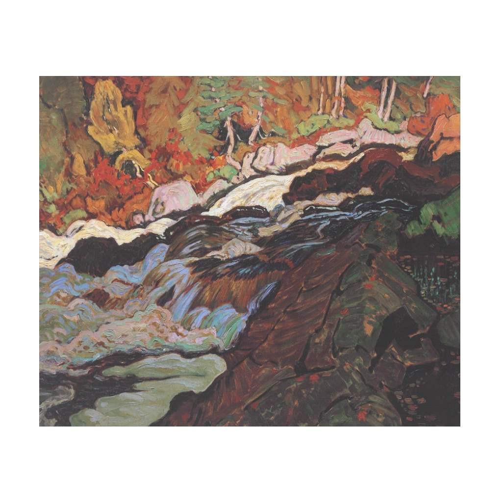 Batchawana Rapids (Group Of Seven) by J.E.H. MacDonald