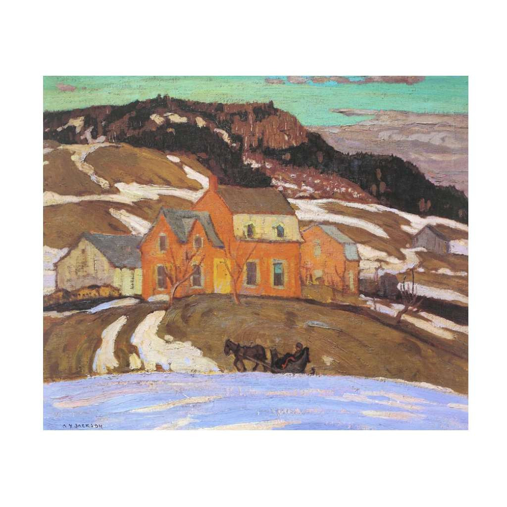 Early Spring In Quebec (Group Of Seven) by A.Y. Jackson