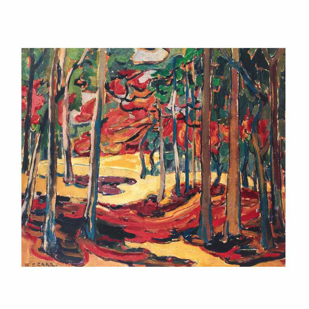 Autumn Woods (Group Of Seven) by Emily Carr