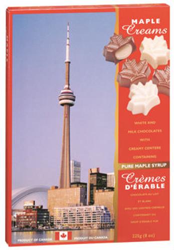 Canada True Maple Cream Chocolates - Toronto (2 Pack of 225 g)
