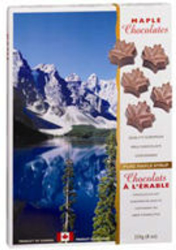 Canada True Maple Solid Chocolates - Canada (2 Pack of 225 g)