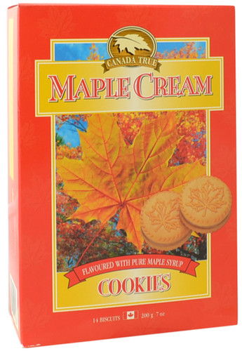 Canada True Canada Maple Cream Cookies (3 Pack of 200 g)