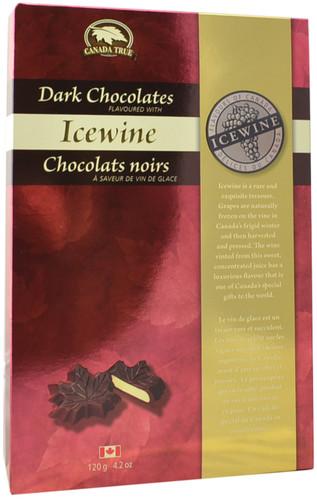 Canada True Icewine Dark Chocolates (2 Pack of 120 g)