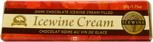 Canada True Icewine Dark Chocolate Bar (3 Pack of 50 g)