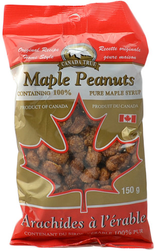 Canada True Maple Peanuts (3 Pack of 150 g)