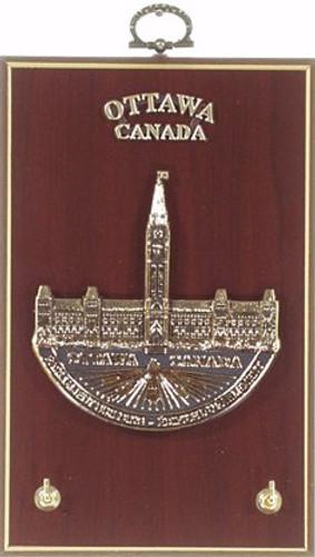 Key Hook Plaque - Parliament, Ottawa, Canada by AFG