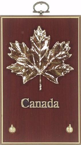 AFG Key Hook Plaque - Maple Leaf Canada