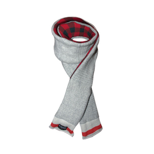 Loop (Grey / Red Plaid) Red Plaid by Pook