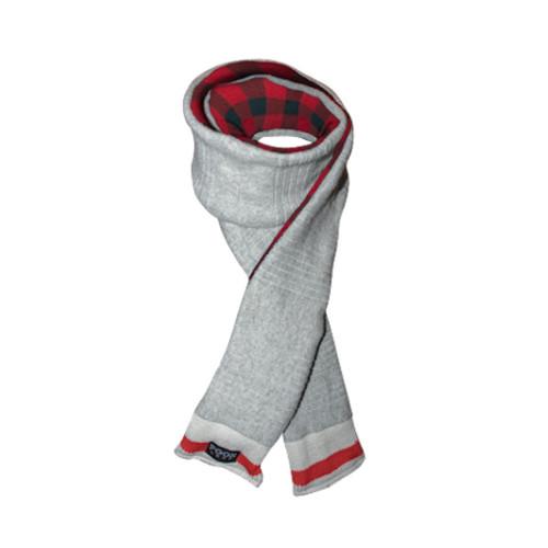 Loop (Grey / Red Plaid) Red Plaid by Pook