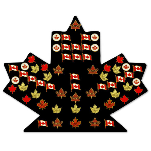 World Class Lapel Pins Assorted (Set Of 60) by Canada True