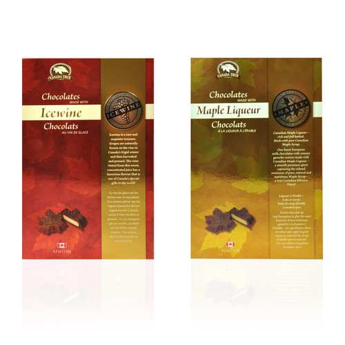 Maple Liqueur and Icewine Chocolates by Canada True