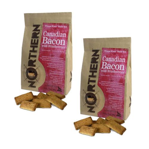 Dog Biscuits Canadian Bacon (2 Pack) by Northern