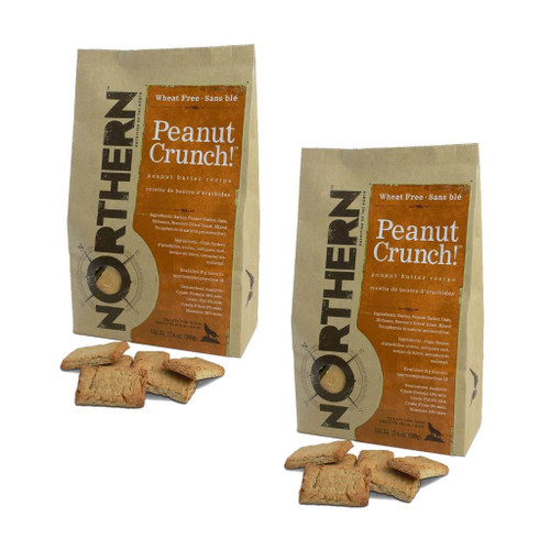 Dog Biscuits Peanut Crunch (2 Pack) by Northern