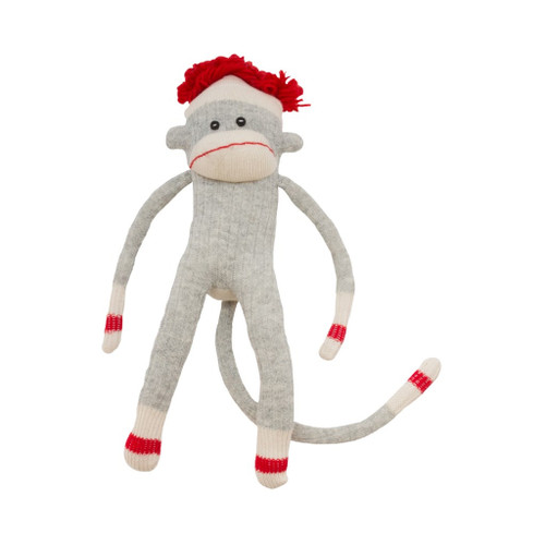 Sock Monkey (Boy) by Pook - Ships in Canada Only