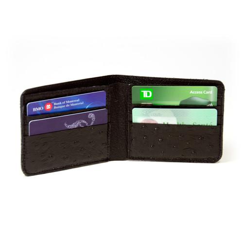 Grey Walleye Wallet by Big Eye Leather