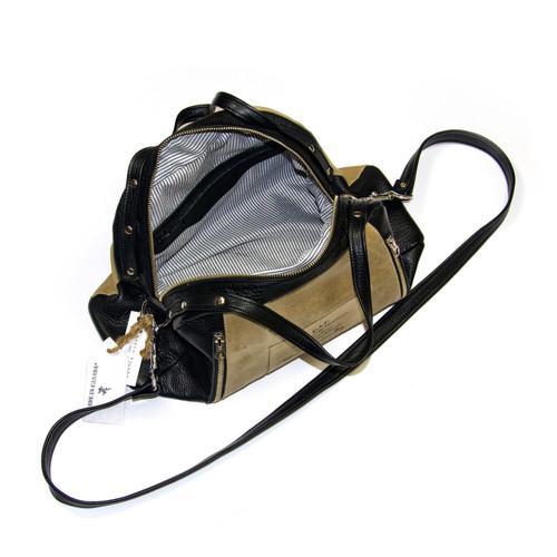 Bowler Bag by C.A.P. Bags by Karen Wilson