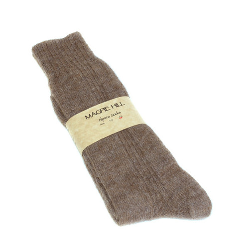 Women's Alpaca Socks 09-Dec by Magpie Hill Alpaca