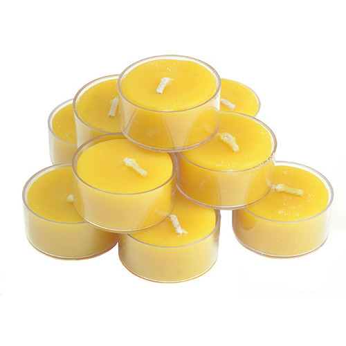 Beeswax Tealite Candles 10 Pack by Cheeky Bee