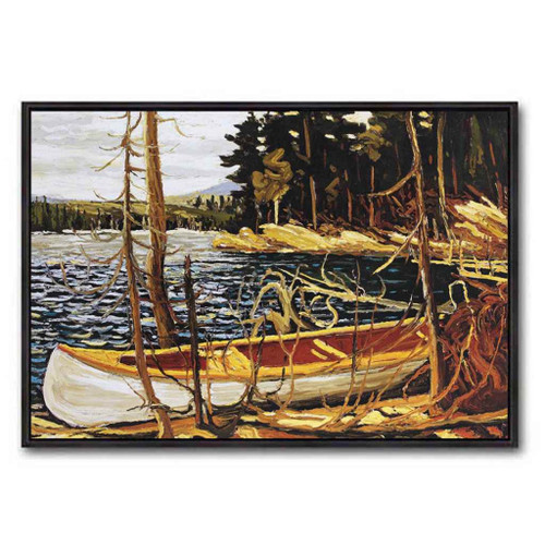 The Canoe (Group Of Seven) by Tom Thomson