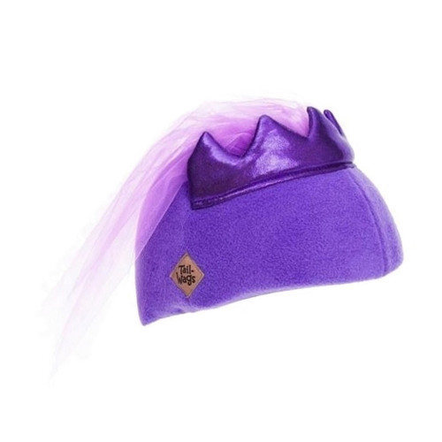 Princess Helmet Cover (Child) by Tail Wags - Ships in Canada Only