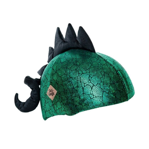 Dinosaur Helmet Cover (Child / Adult) by Tail Wags - Ships in Canada Only