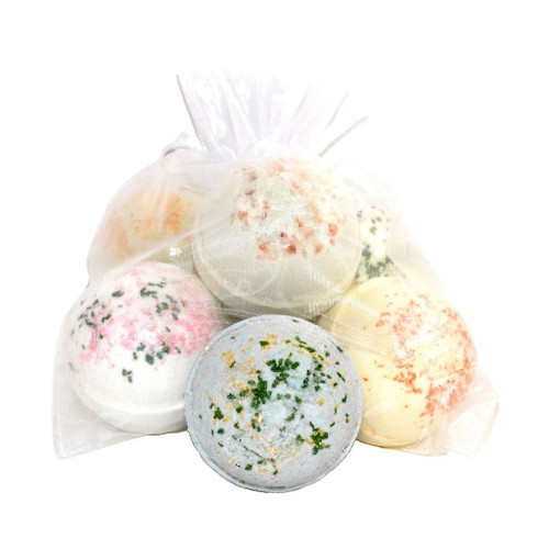 Earthy Jumbo Fizzing Bath Bombs by Canadian Bath Bomb Company