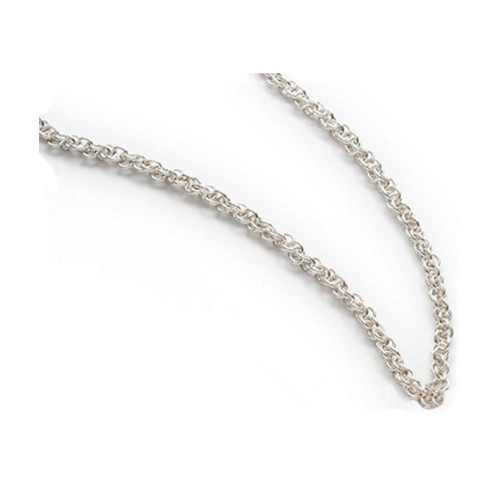 Small Twist Chain Sterling Necklace by Lisa Ridout Exclusive Jewellery