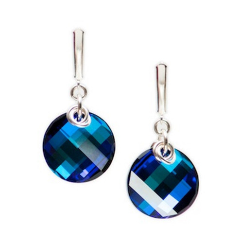 Carlu Earrings (Bermuda Blue) by Lisa Ridout Exclusive Jewellery