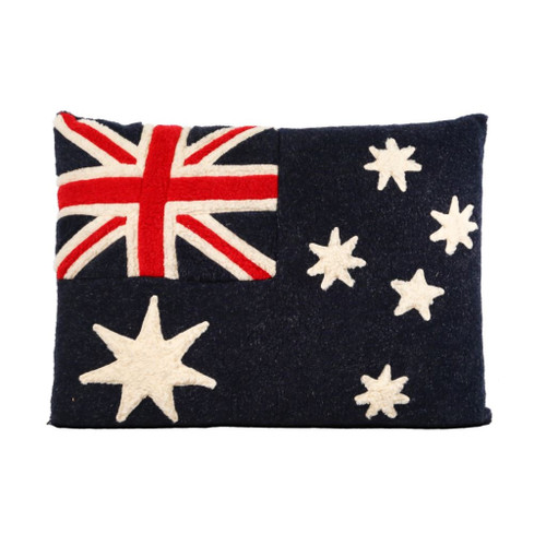 Pet Bed (Australia Flag) by Aviva Designs