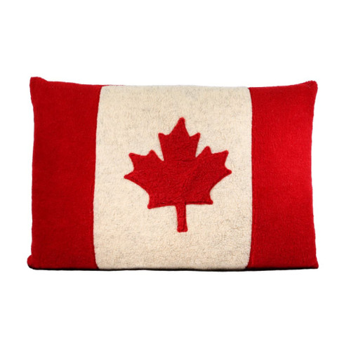 Pet Bed (Canadian Flag) by Aviva Designs