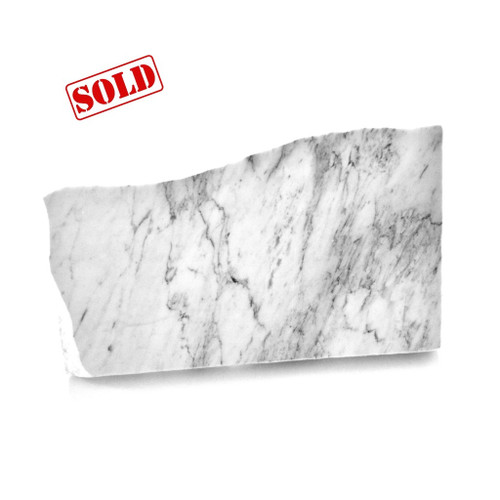 Stone Serving Platter (White Marble) by Summer Kitchen