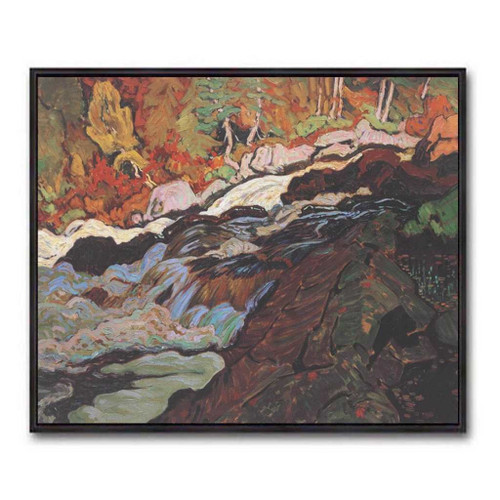 Batchawana Rapids (Group Of Seven) by J.E.H. MacDonald