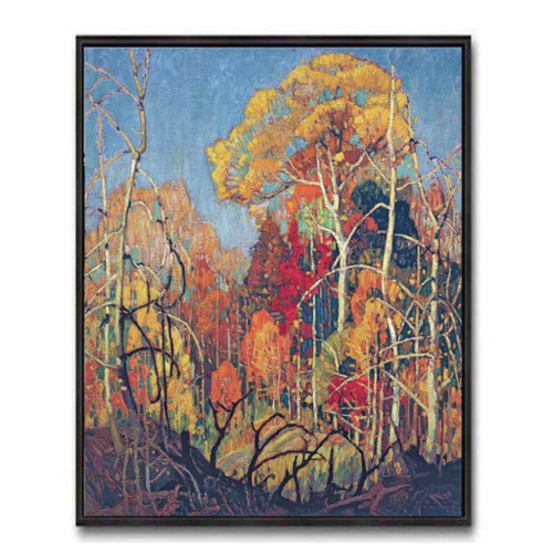Autumn In Orillia (Group Of Seven) by Franklin Carmichael