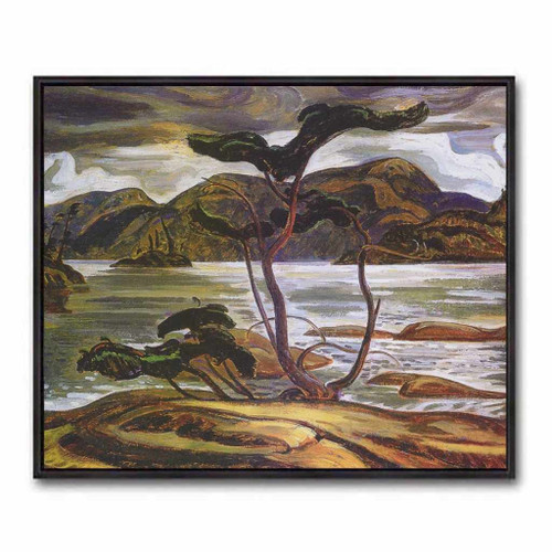 Bent Pine (Group Of Seven) by A.Y. Jackson