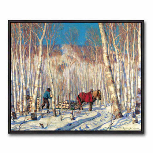 March In The Birch Woods (Group Of Seven) by Clarence Gagnon