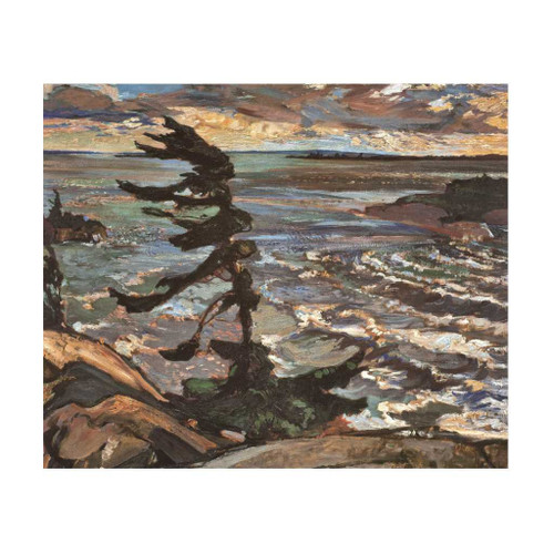 Stormy Weather (Group Of Seven) by Frederick Varley