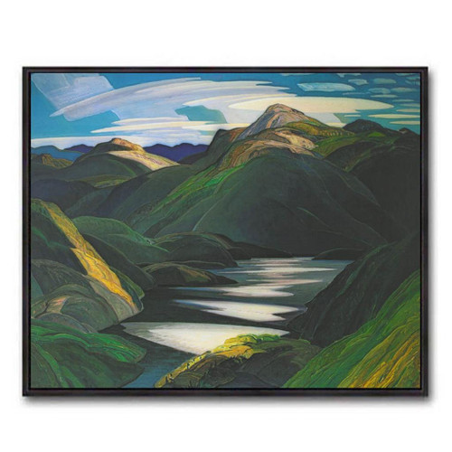 Light And Shadow (Group Of Seven) by Franklin Carmichael