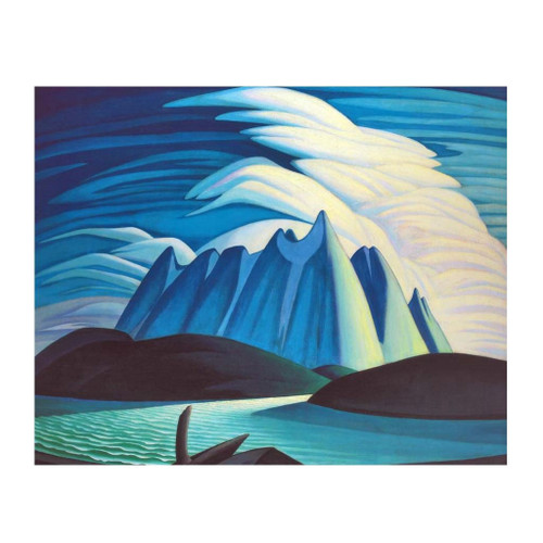 Lake And Mountains (Group Of Seven) by Lawren Harris