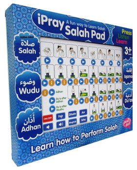 ipray Salah Pad For Boy ( A Fun Way To Learn Salah )