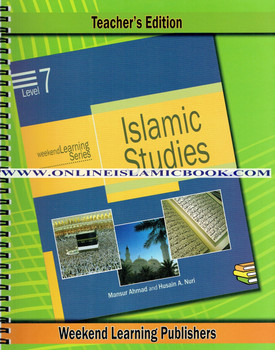 Islamic Studies Level 7 Teacher's Manual (Teacher's Edition) (Weekend Learning Series)