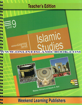 Islamic Studies Level 9 Teacher's Manual (Teacher's Edition) (Weekend Learning Series)