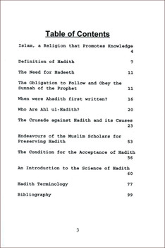 Studies In Hadith Literature With A Complete Hadith Terminology