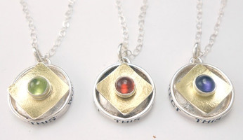 PROTECT ROUND BOX NECKLACE