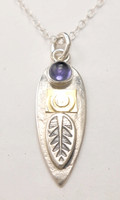 PROTECT SPEAR NECKLACE, IOLITE  ON SALE