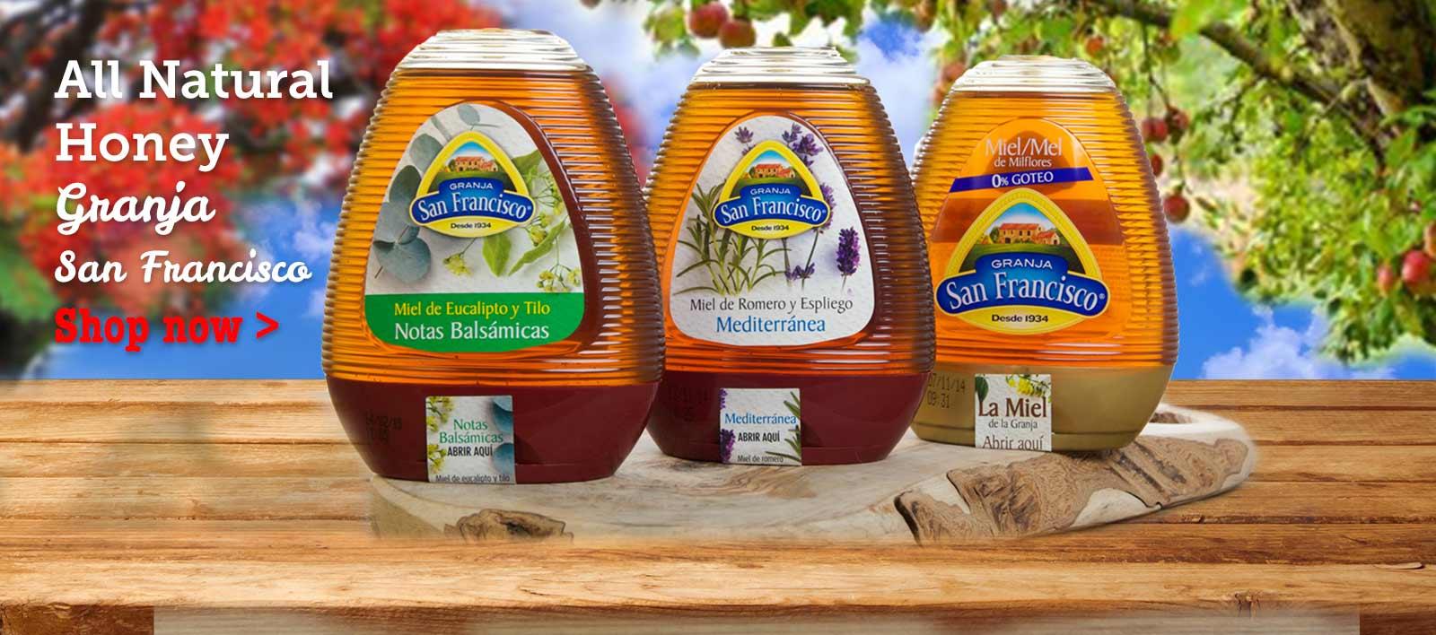 Honey tea from Spain