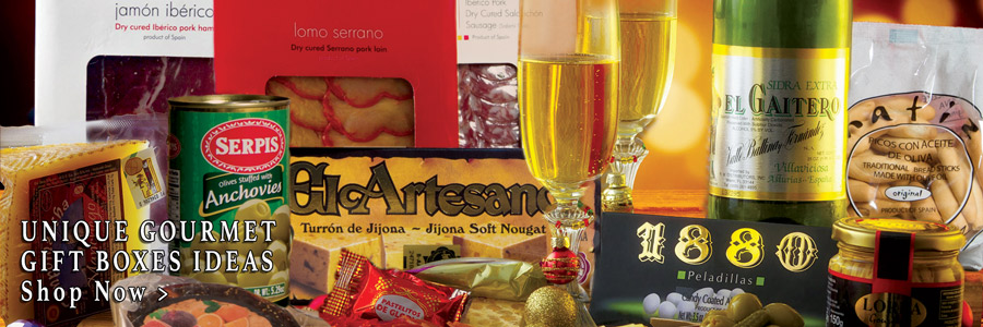 UNIQUE GOURMET GIFT BOXES IDEAS FROM SPAIN FOR THE HOLIDAYS