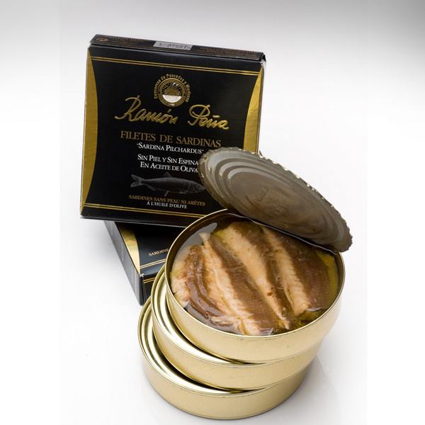 sardinas en aceite conservas Ramon Peña