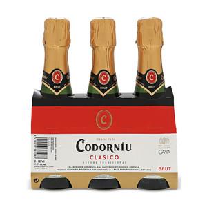 Cava Clasico by Codorniu 3-pack