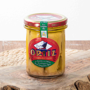 Bonito del Norte in Organic Olive Oil - White Meat Tuna by Ortiz